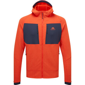 Mountain Equipment Fornax Hooded Jacket Men, pomarańczowy